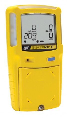 BW Gas Alert Max XT II Series Multi-Gas Detector with Motorized Pump