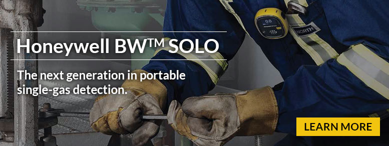 BW SOLO - the next generation in portable singe-gas detection