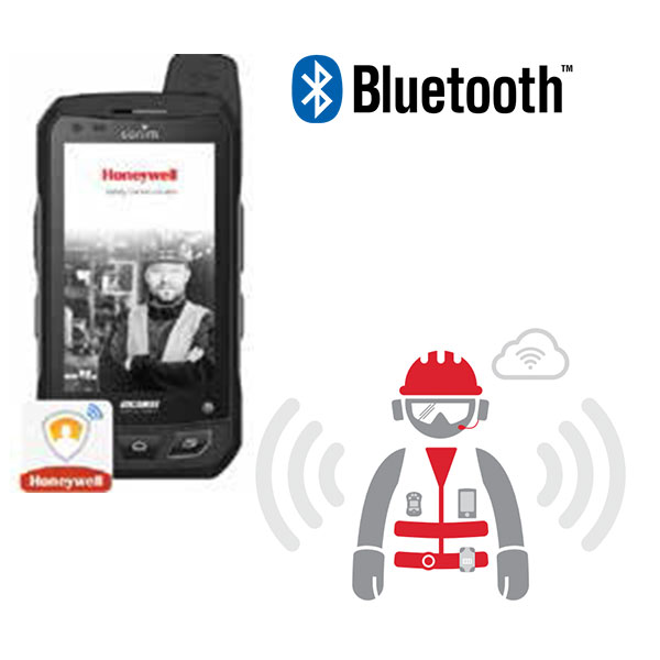 Mobile receiving information over WiFi/Bluetooth