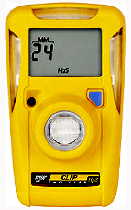 BW BWC2R-H510 Hydrogen Sulfide Gas Detector, 2-Year Operation, Low 5ppm/High 10ppm Set Point-