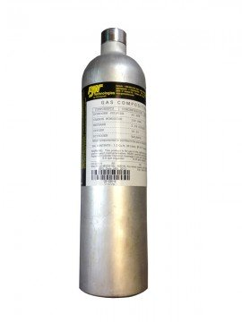 BW CG2-S-20-34 Single Gas Calibration Gas, SO<sub>2</sub>, 34L-