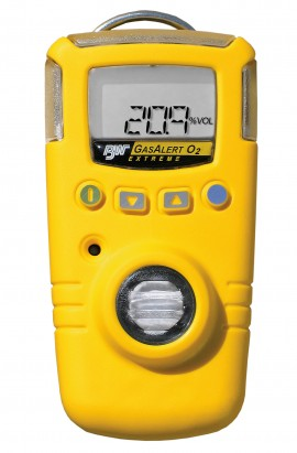 BW GasAlert Extreme Single Gas Detectors Series-