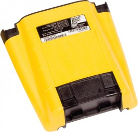 BW M5-BAT0502 Alkaline Battery Pack for GasAlertMicro 5, European-Style Safety Screws, Yellow-