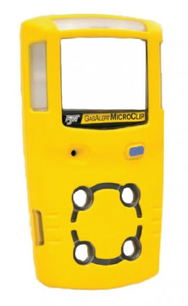 BW M5-FC1 Replacement Front Enclosure for GasAlertMicro 5, Yellow-