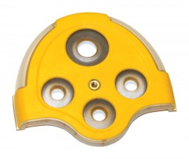 BW M5-DC-1 Replacement Diffusion Cover for GasAlertMicro 5, Yellow-